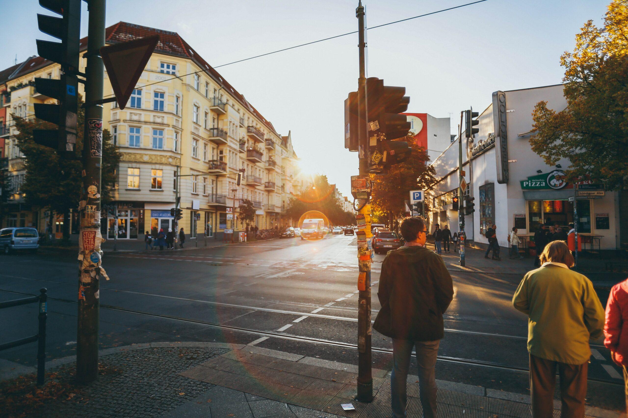 Rosenthaler Platz Kreuzung